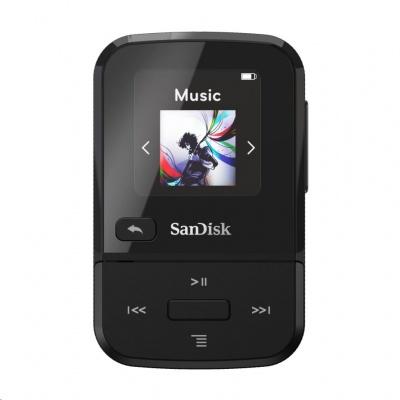 SanDisk Clip Sport Go MP3 Player 16 GB, Black