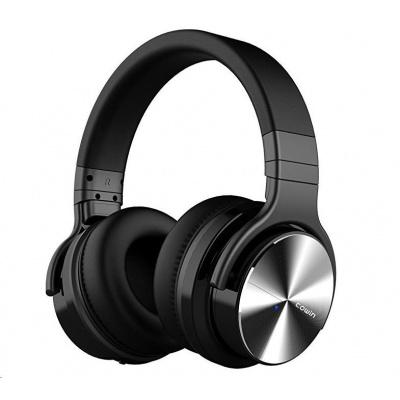 COWIN E7 PRO ANC bezdrátová sluchátka, černá