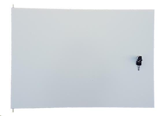 LEXI dveře plechové pro rozvaděč LEXI 9U nástěnný