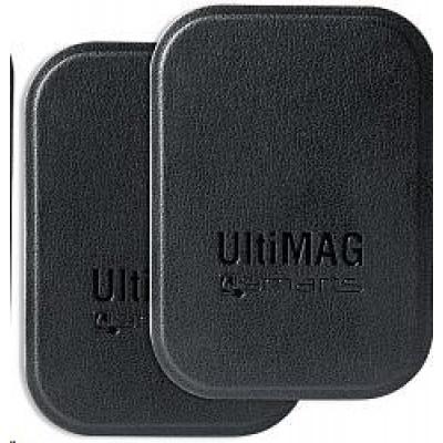 4smarts magnetický plíšek na držáky UltiMAG, 2 ks, černá