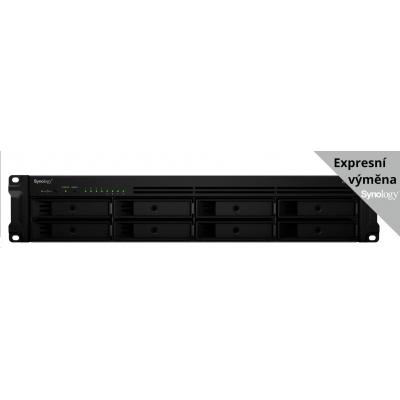 Synology RS1219+ RackStation (4C/AtomC2538/2,4GHz/2GBRAM/8xSATA/2xUSB3.0/1xeSATA/4xGbE/1xPCIe) + záruka 5 let