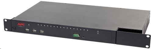 APC KVM 2G, Enterprise Digital/IP, 2 Remote Users, 1 Local User, 16 ports with Virtual Media