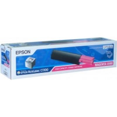 EPSON Toner bar AcuLaser C1100/C1100N/CX11N - Magenta (4000 stran)