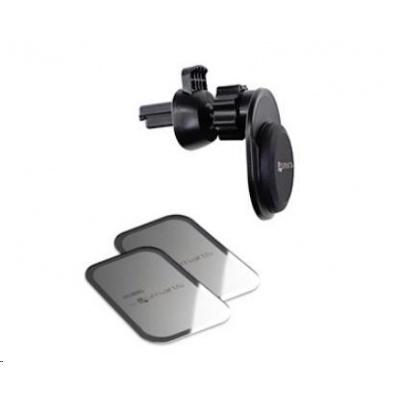 4smarts magnetický držák do auta UltiMAG VentMag Plus, černá