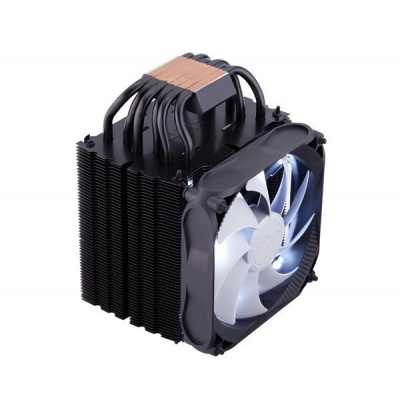 Fortron Chladič CPU Windale 6 Cooler AC602, 6 Heat-Pipe, 240W TPD, 120 mm PWM white LED