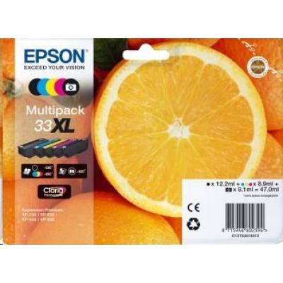 """EPSON ink Multipack """"Pomeranč"""" 5-colours 33XL Claria Premium Ink"""