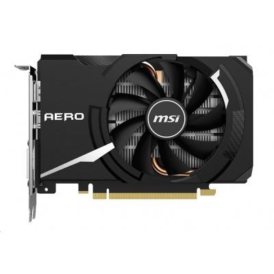 MSI VGA NVIDIA GeForce GTX 1650 SUPER AERO ITX OC, 4GB GDDR6, 1x HDMI, 1xDP, 1xDVI