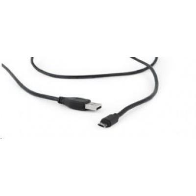 GEMBIRD Kabel CABLEXPERT MicroUSB oboustranný univerzální konektor, 1,8m, černý