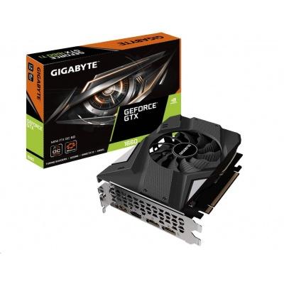 GIGABYTE VGA NVIDIA GeForce GTX 1660 MINI ITX OC 6G, 6GB GDDR5, 3xDP, 1xHDMI