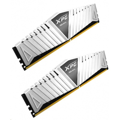 DIMM DDR4 8GB 2400MHz CL16 (KIT 2x4GB) ADATA XPG Z1, 512x8, white