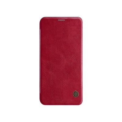 Nillkin Qin Leather Case pro Xiaomi Mi A2 Lite Red