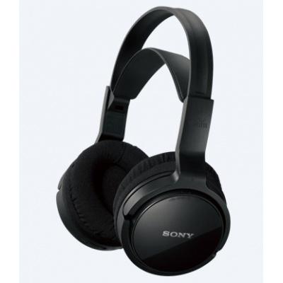 SONY bezdrátový RF sluchátkový stereo systém MDR-RF811RK, černá