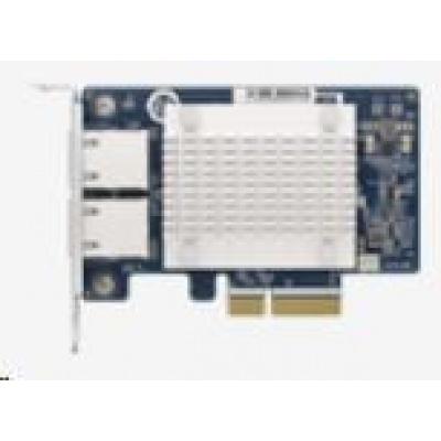 QNAP QXG-5G2T-111C síťová rozšiřující karta 5GbE, dvouportová pro PC/NAS