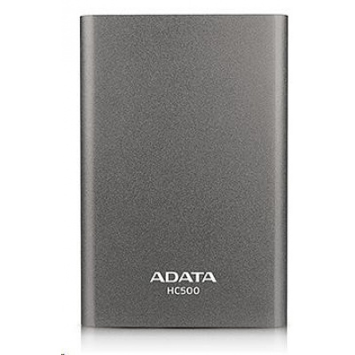 "ADATA Externí HDD 500GB 2,5"" USB 3.0 DashDrive Choice HC500, titanová černá"
