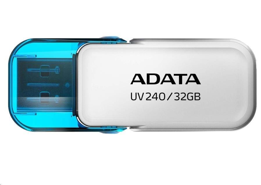 ADATA Flash Disk 32GB USB 2.0 Dash Drive UV240, White