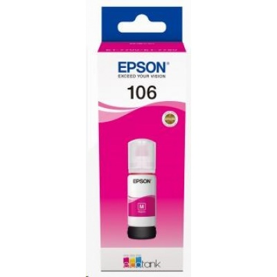 EPSON ink bar 106 EcoTank Magenta ink bottle