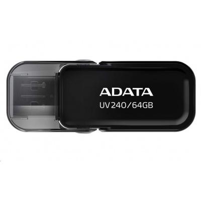 ADATA Flash Disk 64GB USB 2.0 Dash Drive UV240, Black