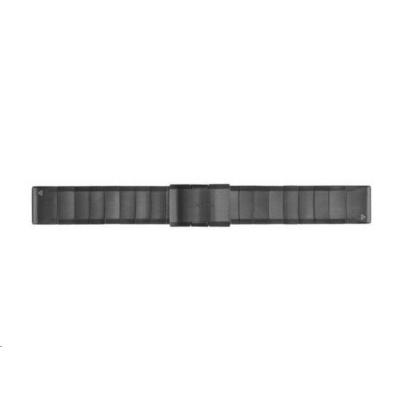Garmin řemínek pro fenix5/Forerunner 935 - QuickFit 22, kovový, šedý