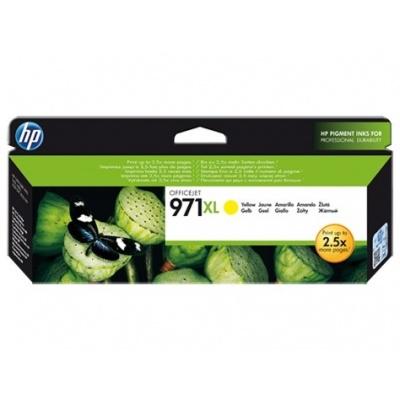 HP 971XL Yellow Ink Cart, 6 600 stran, CN628AE