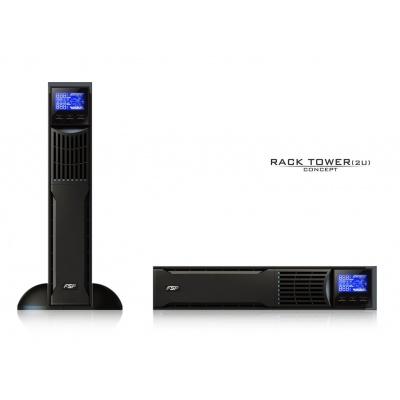 Fortron UPS FSP Custos 9X+ 1000 VA, 2U, online