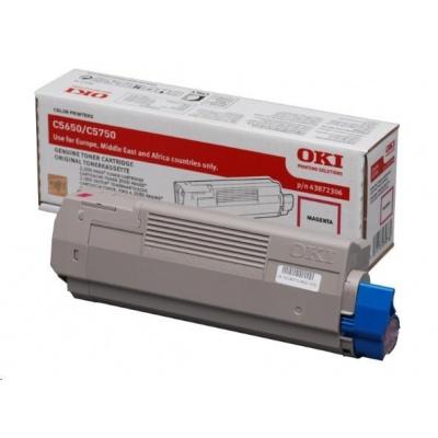 Oki Toner Magenta do C5650/C5750 (2 000 stránek)