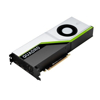 NVIDIA Quadro RTX 5000 16GB GDDR6, PCIe 3.0x16 Card, 4x display port + USB-C