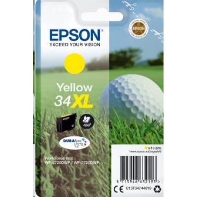 "EPSON ink bar Singlepack ""Golf"" Yellow 34XL DURABrite Ultra Ink 10,8 ml"