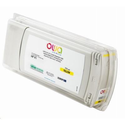 OWA Armor cartridge pro HP DesignJet Z 6100, 775ml, C9469A, Yellow