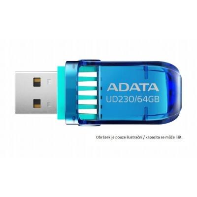 ADATA Flash Disk 16GB USB 2.0 DashDrive™ UD230,  modrý