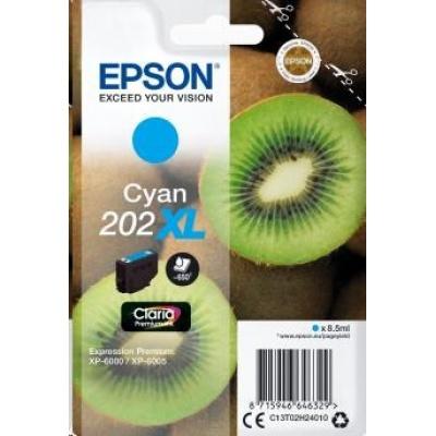 "EPSON ink bar Singlepack ""Kiwi"" Cyan 202XL Claria Premium Ink 8,5 ml"