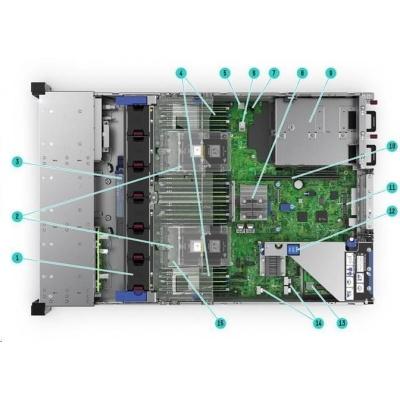 HPE PL DL380g10 4110 (2.1.G/8C/14M/2400) 2x16G P816i-a/4G 12-19LFF 2x800Wp RF NBD333 2U 868710-B21 Renew