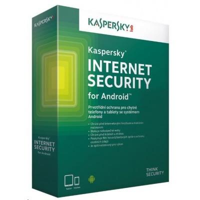 Kaspersky Internet Security 2019 ANDROID, 1 zařízení, 1 rok, nová licence, elektronicky