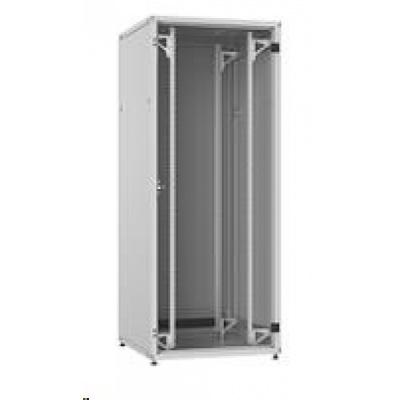 Solarix Rozvaděč LC-50 42U, 800x800 RAL 7035, skleněné dveře