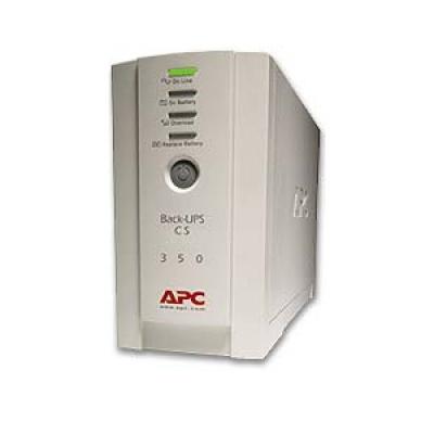 APC Back-UPS CS 350 USB/Serial 230V (210W) - Poškozený obal - BAZAR