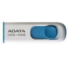 ADATA Flash Disk 64GB USB 2.0 Classic C008, bílý
