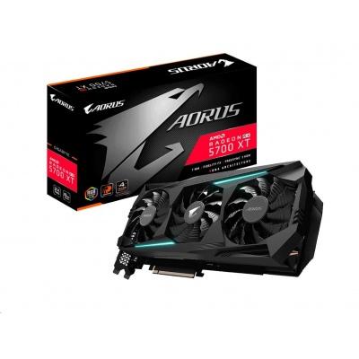 GIGABYTE VGA AMD Radeon RX 5700 XT AORUS 8G, 8GB GDDR6, 3xDP, 1xHDMI2.0b, 2xHDMI1.4b