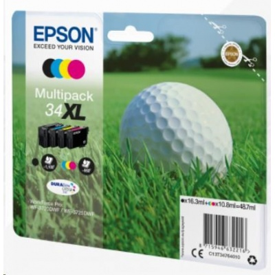 "EPSON ink Multipack 4-colours ""Golf"" 34XL DURABrite Ultra Ink"