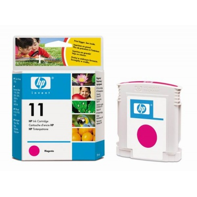 HP 11 Magenta Ink Cart, 28 ml, C4837A