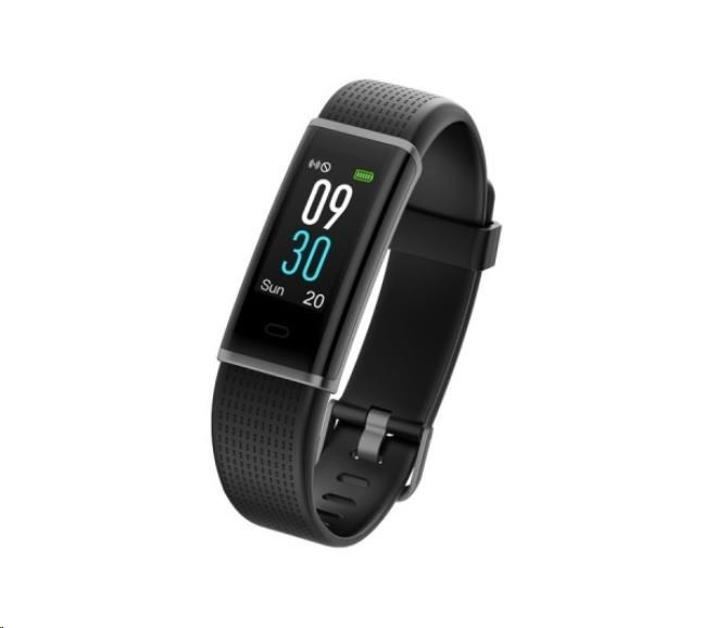 "UMAX U-Band 130 Plus HR Color - 0.96"" Displej, USB port na modulu, BT, Baterie 65mAh"